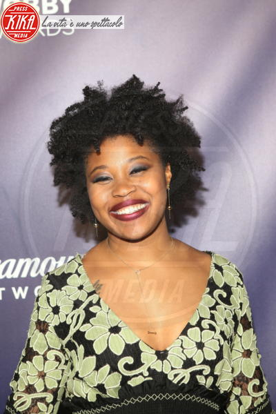 Dominique Fishback - New York - 15-05-2018 - Webby Awards: FKA Twigs, sideboob da capogiro