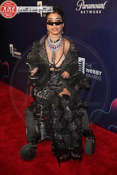 Jillian Mercado - New York - 15-05-2018 - Webby Awards: FKA Twigs, sideboob da capogiro