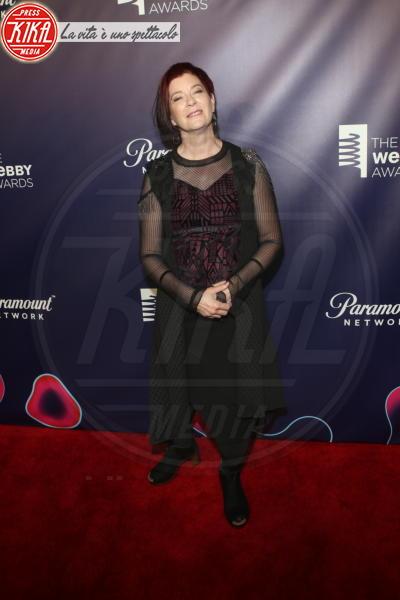 MITCHELL BAKER - New York - 15-05-2018 - Webby Awards: FKA Twigs, sideboob da capogiro