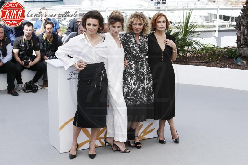 Valentina Cervi, Valeria Golino, Jasmine Trinca, Isabella Ferrari - Cannes - 15-05-2018 - Cannes 2018: Euphoria, c'è il ritorno del duo Scamarcio-Golino