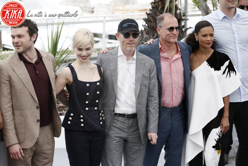 Emilia Clarke, Woody Harrelson, Ron Howard, Thandie Newton - Cannes - 15-05-2018 - Cannes 2018: Hollywood si trasferisce sulla Croisette per Solo