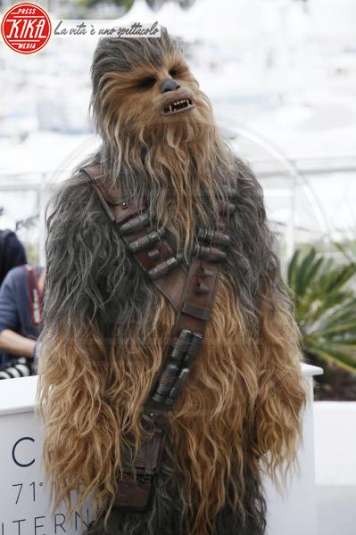 Chewbacca - Cannes - 15-05-2018 - Cannes 2018: Hollywood si trasferisce sulla Croisette per Solo