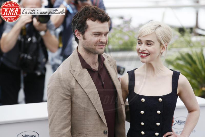 Emilia Clarke, Alden Ehrenreich - Cannes - 15-05-2018 - Cannes 2018: Hollywood si trasferisce sulla Croisette per Solo