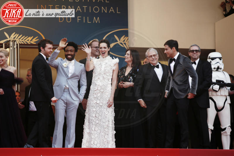 Phoebe Waller-Bridge, Donald Glover - Cannes - 15-05-2018 - Cannes 2018, Star Wars smuove persino John Travolta e famiglia