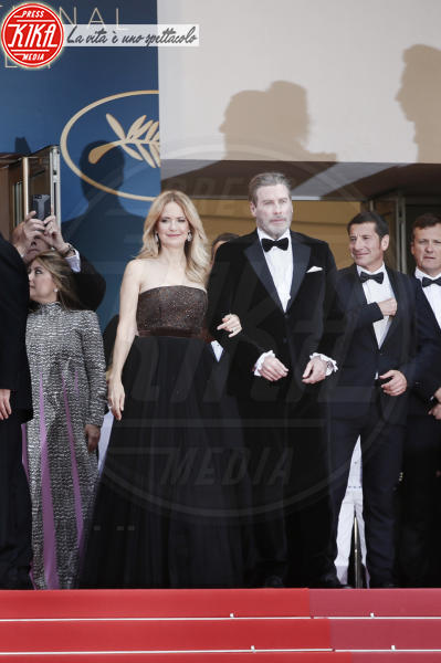 Kelly Preston, John Travolta - Cannes - 15-05-2018 - Cannes 2018, Star Wars smuove persino John Travolta e famiglia