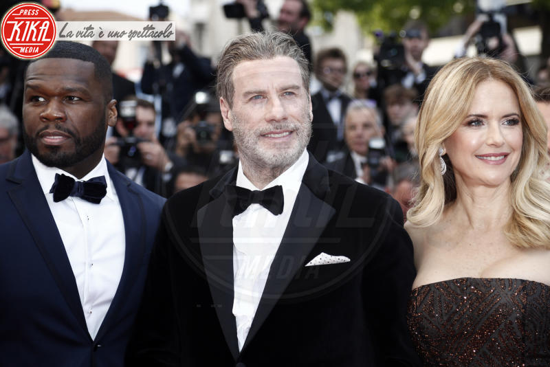 50 Cent, Kelly Preston, John Travolta - Cannes - 15-05-2018 - Cannes 2018, Star Wars smuove persino John Travolta e famiglia