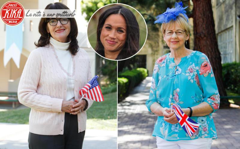Christine Knudsen, Maria Pollia - Los Angeles - 15-05-2018 - Meghan & Harry: parlano le ex insegnanti della Markle