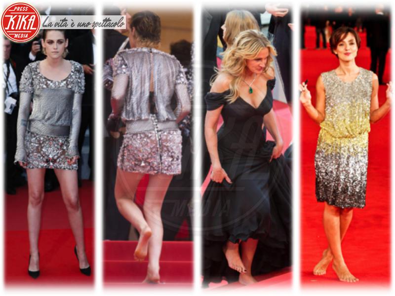 Kristen Stewart, Julia Roberts - Cannes - 16-05-2018 - Cannes 2018: Kristen come Julia, piedi nudi sul red carpet