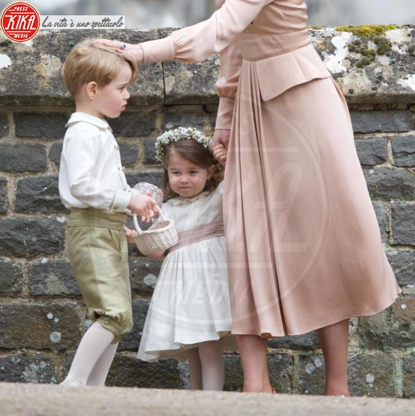 Principessa Charlotte Elizabeth Diana, Principe George, Kate Middleton - Englefield - 20-05-2017 - George e Charlotte tra paggetti e damigelle: le foto più belle