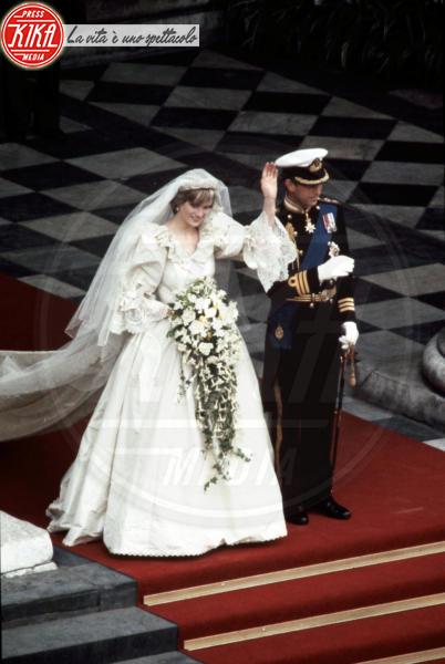 Lady Diana - Londra - 29-07-1981 - Da Kate a Lady D, gli abiti da sposa Windsor più belli