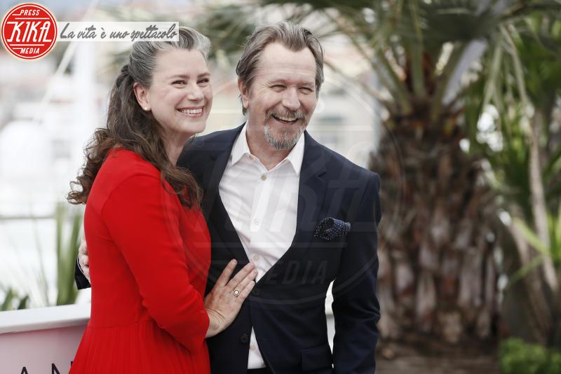 Gisele Schmidt, Gary Oldman - Cannes - 17-05-2018 - Cannes 2018: Gary Oldman svela il suo prossimo film