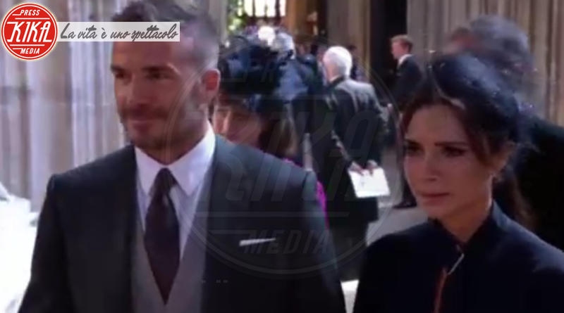 David Beckham, Victoria Beckham - Windsor - 19-05-2018 - Royal Wedding, gli ospiti: Amal Clooney è in giallo