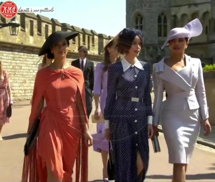 Priyanka Chopra - Windsor - 19-05-2018 - Royal Wedding, gli ospiti: Amal Clooney è in giallo