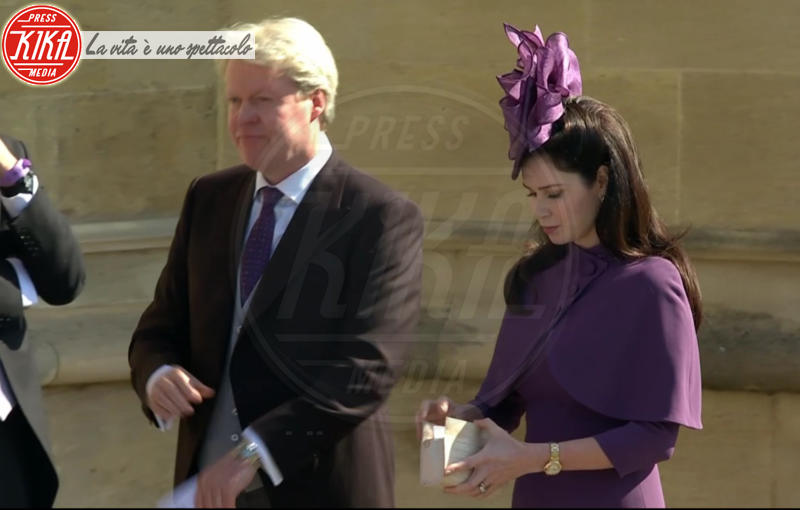 Charles Spencer - Windsor - 19-05-2018 - Royal Wedding, gli ospiti: Amal Clooney è in giallo