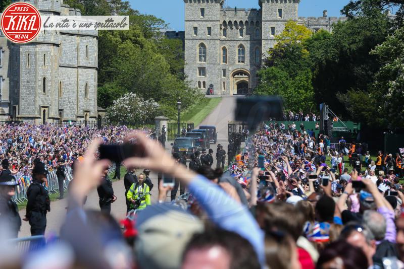Windsor - 19-05-2018 - Il principe Harry e Meghan Markle sono marito e moglie
