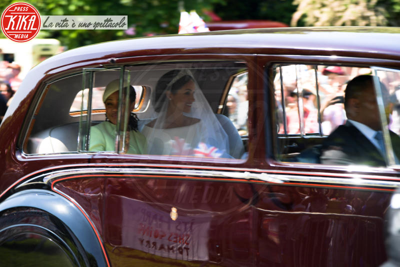 Duchess of Sussex, Doria Ragland, Meghan Markle - Windsor - 19-05-2018 - Il principe Harry e Meghan Markle sono marito e moglie