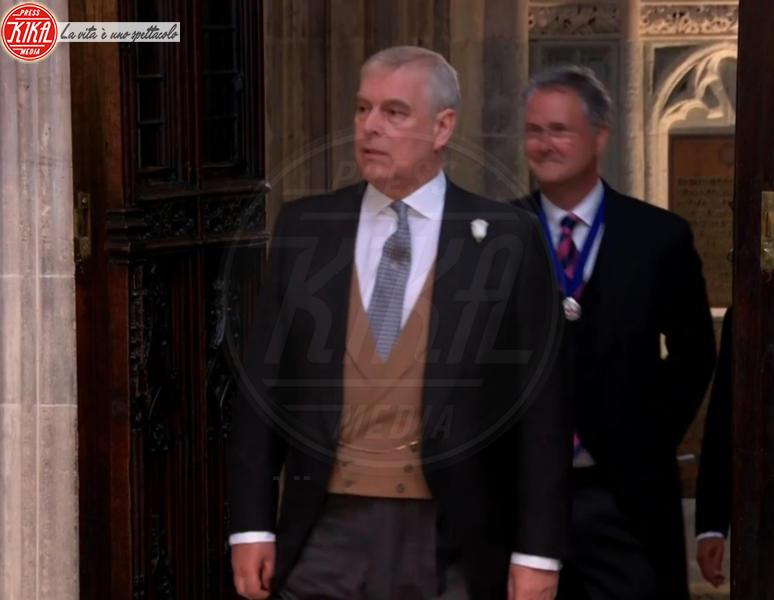 Principe Andrea Duca di York - 19-05-2018 - Royal Wedding, gli ospiti: Amal Clooney è in giallo