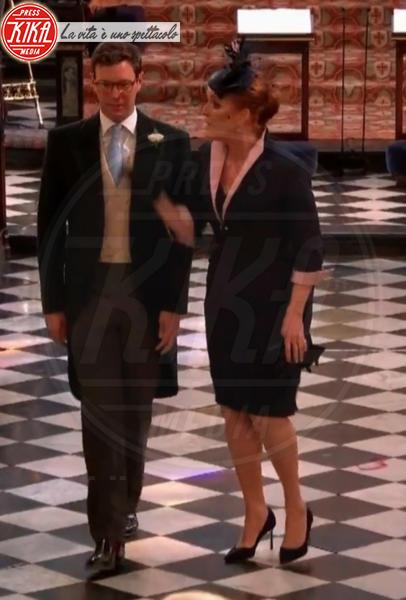 Sarah Ferguson - 19-05-2018 - Royal Wedding, gli ospiti: Amal Clooney è in giallo
