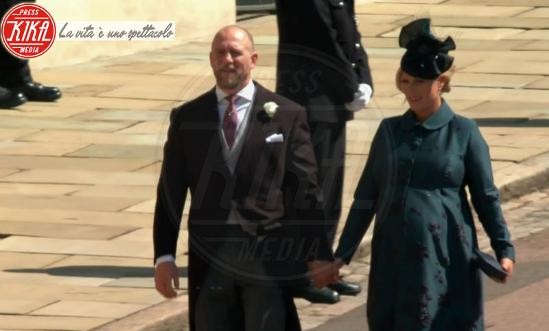 Mike Tindall, Zara Phillips - 19-05-2018 - Royal Wedding, gli ospiti: Amal Clooney è in giallo