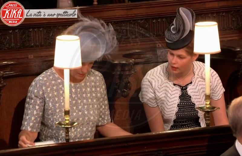 Contessa Sofia di Wessex, principessa Louise - 19-05-2018 - Royal Wedding, gli ospiti: Amal Clooney è in giallo