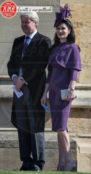 Karen Spencer, Charles Spencer - Windsor - 19-05-2018 - Royal Wedding, gli ospiti: Amal Clooney è in giallo