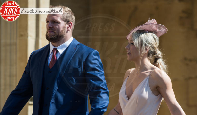 James Haskell, Chloe Madeley - Windsor - 19-05-2018 - Royal Wedding, gli ospiti: Amal Clooney è in giallo