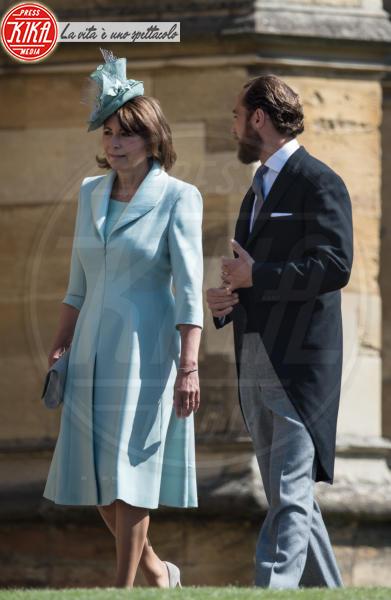 James Middleton, Carole Middleton - Windsor - 19-05-2018 - Royal Wedding, gli ospiti: Amal Clooney è in giallo