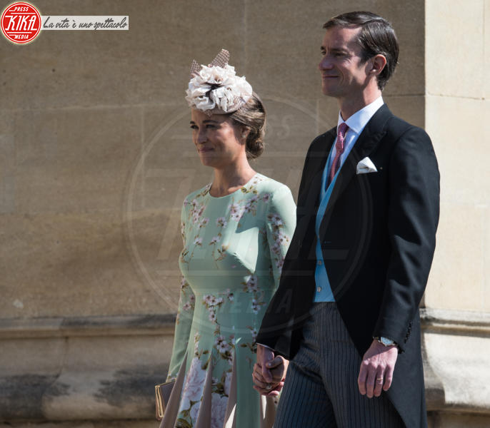 Pippa Matthews, James Matthews, Pippa Middleton - Windsor - 19-05-2018 - Royal Wedding, gli ospiti: Amal Clooney è in giallo