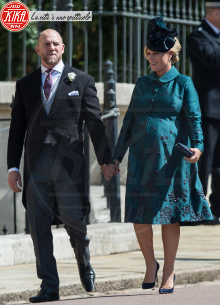 Zara Tindall, Mike Tindall, Zara Phillips - Windsor - 19-05-2018 - Royal Wedding, gli ospiti: Amal Clooney è in giallo