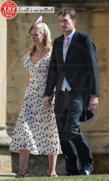 Lady Edwina Grosvenor, Dan Snow - Windsor - 19-05-2018 - Royal Wedding, gli ospiti: Amal Clooney è in giallo