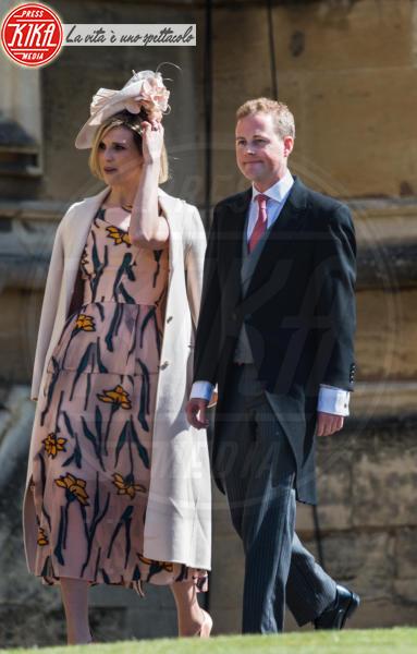 Elisabeth Wilson, Guy Pelly - Windsor - 19-05-2018 - Royal Wedding, gli ospiti: Amal Clooney è in giallo