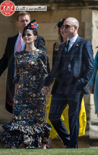 Charlotte Riley, Tom Hardy - Windsor - 19-05-2018 - Royal Wedding, gli ospiti: Amal Clooney è in giallo