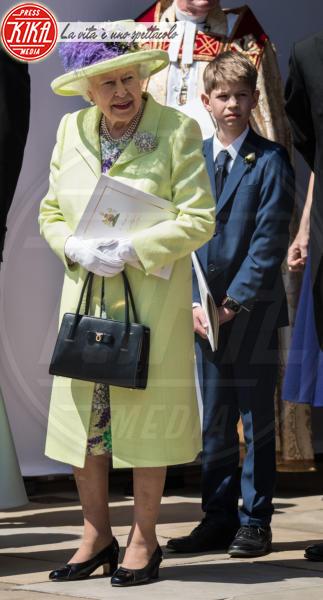 James Visconte di Severn, Regina Elisabetta II - Windsor - 19-05-2018 - Royal Wedding: ecco chi ha vestito chi