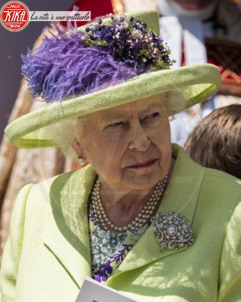 Regina Elisabetta II - Windsor - 19-05-2018 - Royal Wedding: ecco chi ha vestito chi