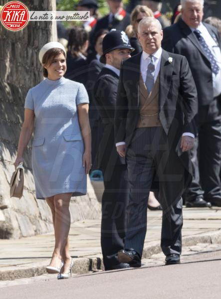 Principe Andrea Duca di York, Principessa Eugenia di York - Windsor - 19-05-2018 - Royal Wedding: ecco chi ha vestito chi