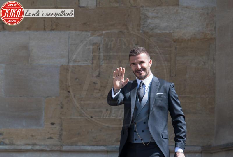 David Beckham - Windsor - 19-05-2018 - Royal Wedding, gli ospiti: Amal Clooney è in giallo