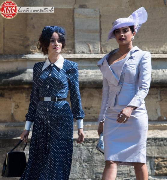 Priyanka Chopra, Abigail Spencer - Windsor - 19-05-2018 - Royal Wedding, gli ospiti: Amal Clooney è in giallo