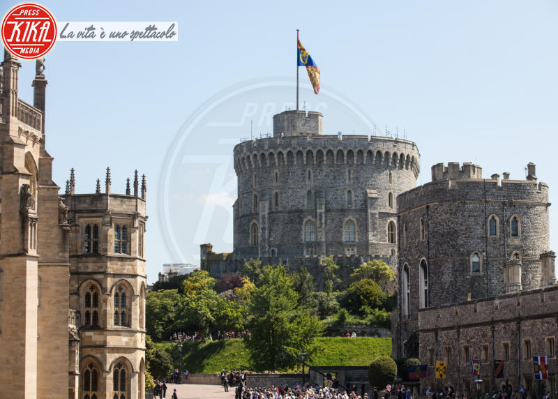 Atmosphere - Windsor - 19-05-2018 - Royal Wedding, gli ospiti: Amal Clooney è in giallo