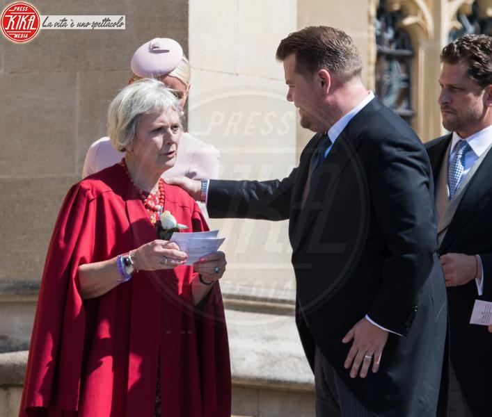 James Corden - Windsor - 19-05-2018 - Royal Wedding, gli ospiti: Amal Clooney è in giallo