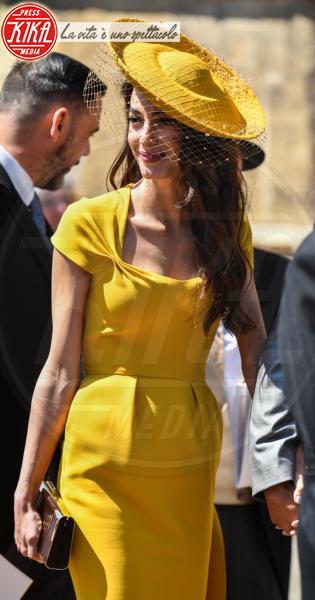 Amal Clooney - Windsor - 19-05-2018 - Royal Wedding, gli ospiti: Amal Clooney è in giallo
