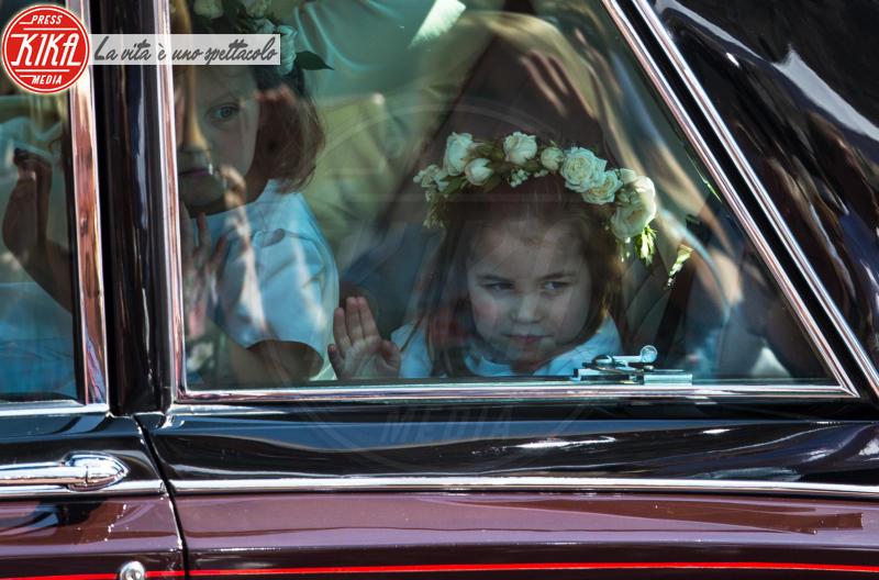 Princess Charlotte - Windsor - 19-05-2018 - Royal Wedding, gli ospiti: Amal Clooney è in giallo