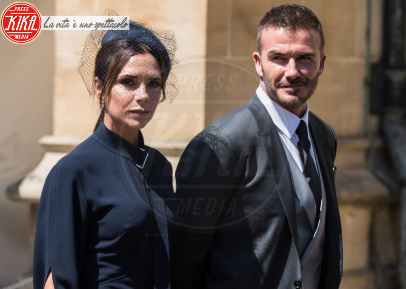 David Beckham, Victoria Beckham - Windsor - 19-05-2018 - Robbie Williams & Co: le star che credono ai fantasmi