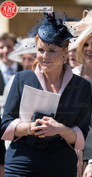 Sarah Ferguson - Windsor - 19-05-2018 - Royal Wedding, gli ospiti: Amal Clooney è in giallo
