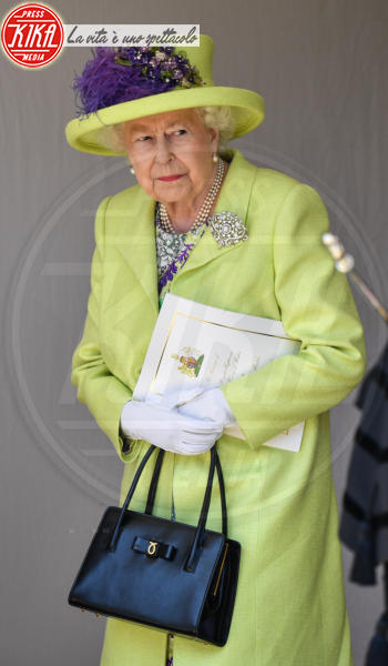Regina Elisabetta II - Windsor - 19-05-2018 - Royal Wedding, gli ospiti: Amal Clooney è in giallo