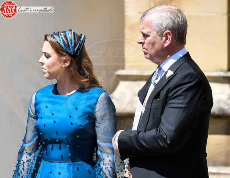 Princess Beatrice, Prince Andrew - Windsor - 19-05-2018 - Royal Wedding, gli ospiti: Amal Clooney è in giallo
