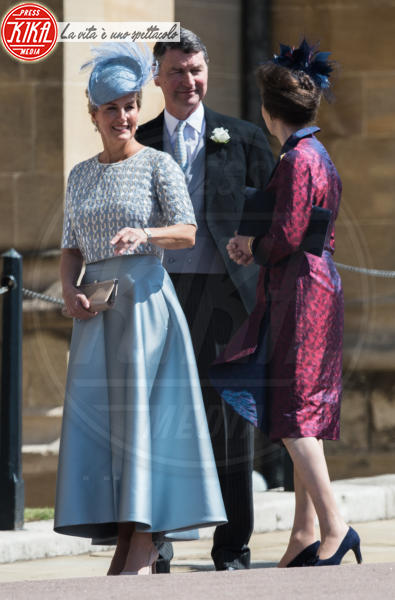 Commander Timothy Laurence, Sophie Countess of Wessex, Princess Anne - Windsor - 19-05-2018 - Royal Wedding, gli ospiti: Amal Clooney è in giallo