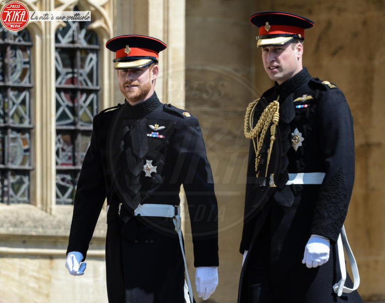 Harry Duke of Sussex, Prince William, Prince Harry, William Duke of Cambridge - Windsor - 19-05-2018 - Royal Wedding, gli ospiti: Amal Clooney è in giallo