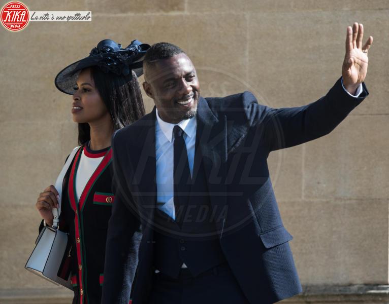 Sabrina Dhowre, Idris Elba - Windsor - 19-05-2018 - Dwayne Johnson: