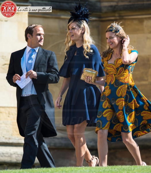 Chelsea Davey - Windsor - 19-05-2018 - Royal Wedding, gli ospiti: Amal Clooney è in giallo