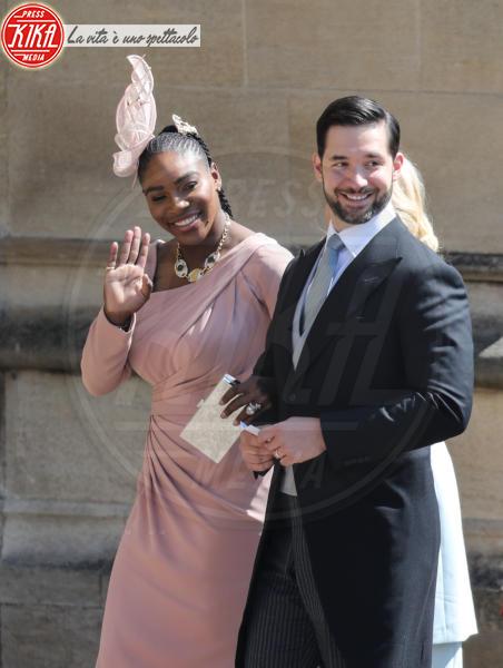 Alexis Ohanian, Serena Williams - Windsor - 19-05-2018 - Royal Wedding, gli ospiti: Amal Clooney è in giallo
